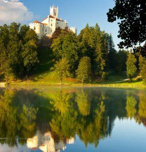 Trakošćan Castle Jigsaw Puzzle