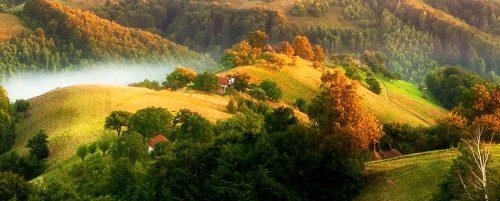Transylvania Hills Jigsaw Puzzle