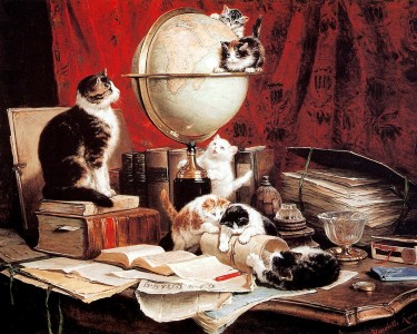 Travel Kitties Jigsaw Puzzle