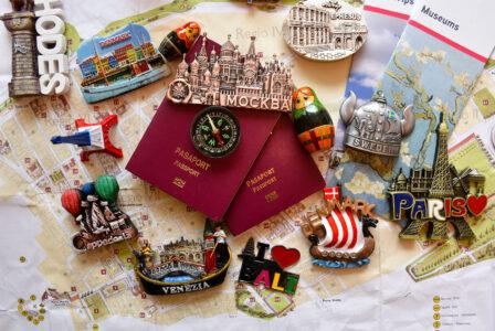 Travel Memories Jigsaw Puzzle