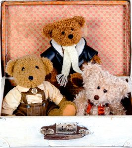 Traveling Bears Jigsaw Puzzle
