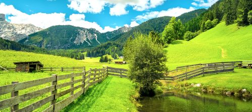 Trentino Valley Jigsaw Puzzle