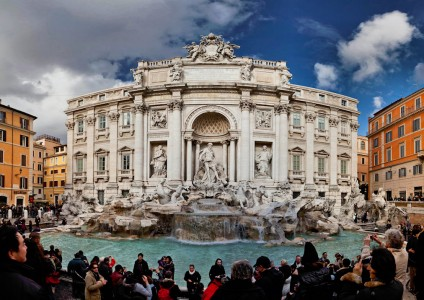Trevi Fountain Jigsaw Puzzle