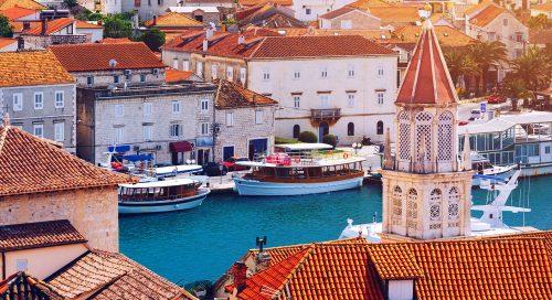 Trogir Boats Jigsaw Puzzle