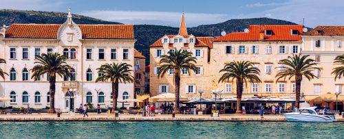 Trogir Waterfront Jigsaw Puzzle