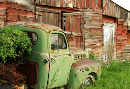 Truck and Barn Jigsaw Puzzle