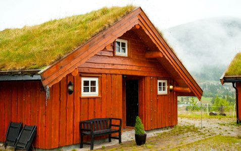 Turf Roof House Jigsaw Puzzle