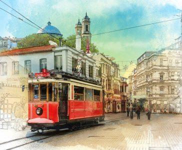 Turkish Tram Jigsaw Puzzle