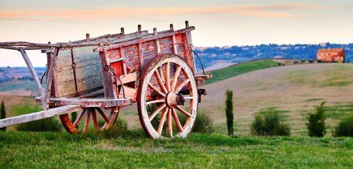 Tuscan Cart Jigsaw Puzzle