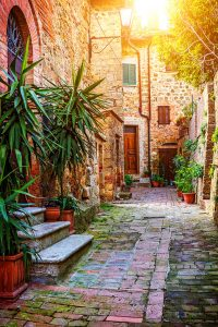 Tuscany Alley Jigsaw Puzzle