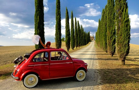 Tuscany by Fiat Jigsaw Puzzle