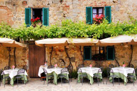 Tuscany Cafe Jigsaw Puzzle