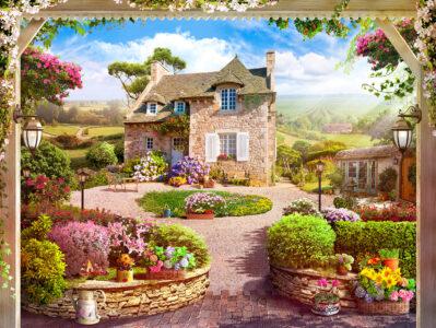 Tuscany Dream House Jigsaw Puzzle