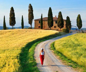 Tuscany Walk Jigsaw Puzzle