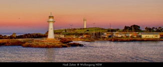 Twin Lighthouses