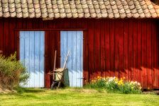 Two Barn Doors