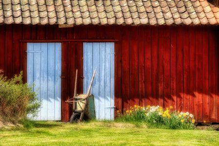 Two Barn Doors Jigsaw Puzzle