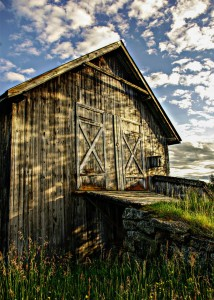 Two Door Barn Jigsaw Puzzle