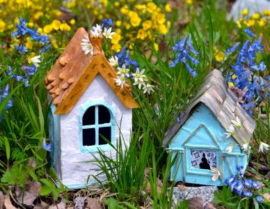Two Garden Houses Jigsaw Puzzle