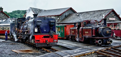Two Steam Trains Jigsaw Puzzle