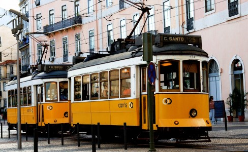 Two Streetcars Jigsaw Puzzle