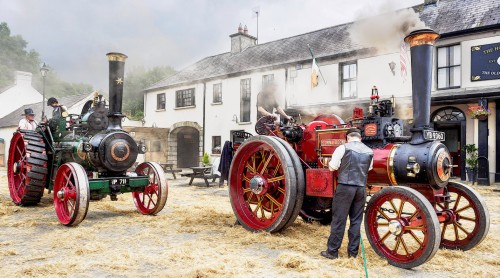 Two Tractors Jigsaw Puzzle