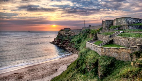 Tynemouth Castle Jigsaw Puzzle