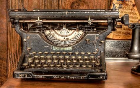 Underwood Typewriter Jigsaw Puzzle