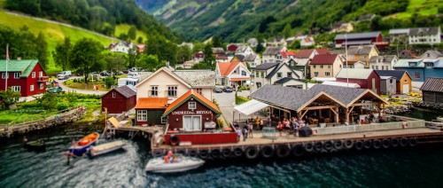 Undredal Brygge Jigsaw Puzzle