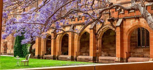 University Courtyard Jigsaw Puzzle