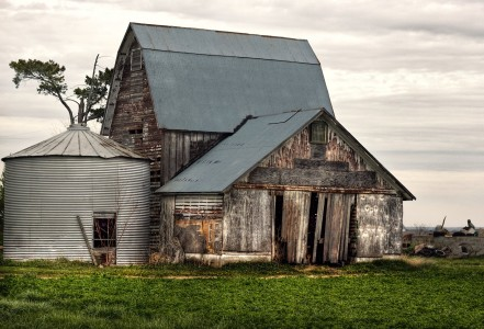 Unpainted Barn Jigsaw Puzzle