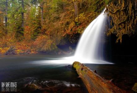 Upper Butte Creek Falls Jigsaw Puzzle