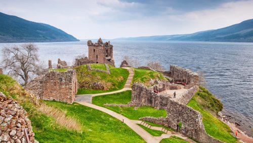 Urquhart Castle Jigsaw Puzzle