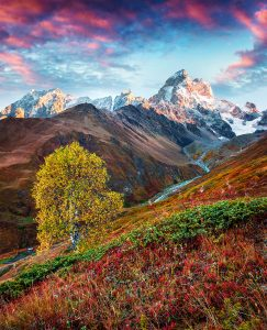 Ushba Mountain Jigsaw Puzzle