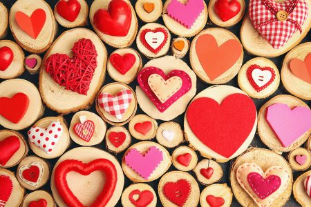 Valentine Hearts Jigsaw Puzzle