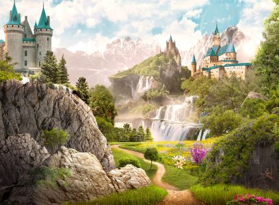 Valley of Castles Jigsaw Puzzle