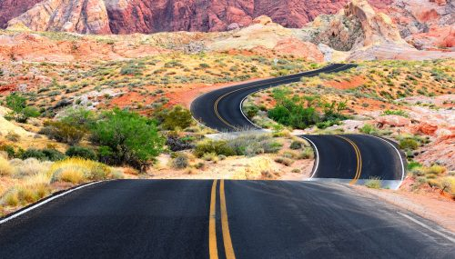 Valley of Fire Jigsaw Puzzle