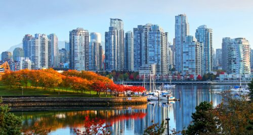 Vancouver Skyline Jigsaw Puzzle
