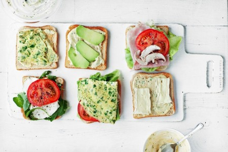 Veggie Sandwiches Jigsaw Puzzle