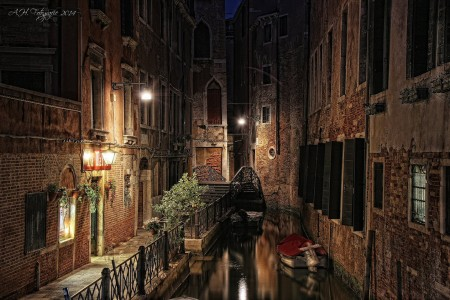 Venice at Night Jigsaw Puzzle