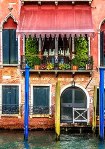 Venice Balcony Jigsaw Puzzle