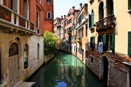 Venice Canal Jigsaw Puzzle