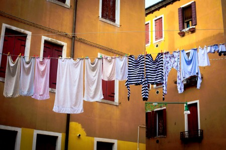 Venice Clothesline Jigsaw Puzzle