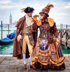 Venice Costumes Jigsaw Puzzle