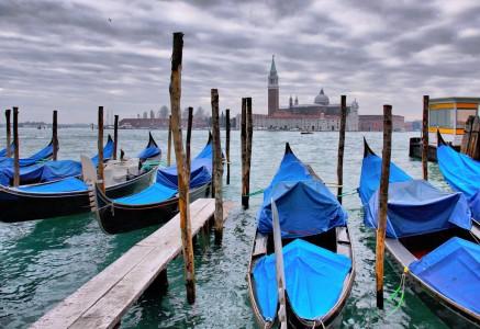 Venice Gondolas Jigsaw Puzzle