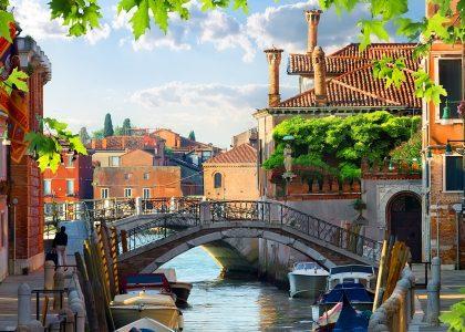Venice Houses Jigsaw Puzzle