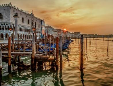 Venice Sunrise Jigsaw Puzzle