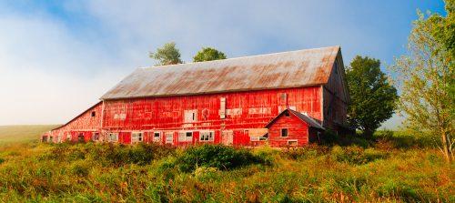 Vermont Barn Jigsaw Puzzle