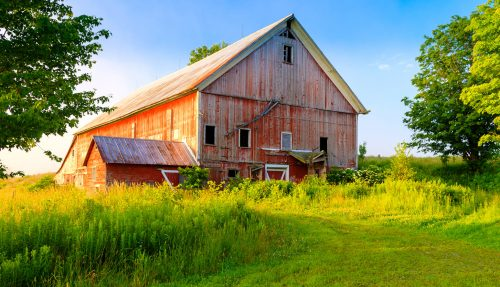 Vermont Barn Jigsaw Puzzle