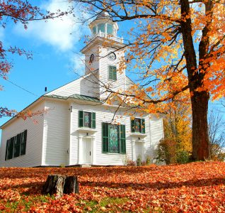 Vermont Church Jigsaw Puzzle